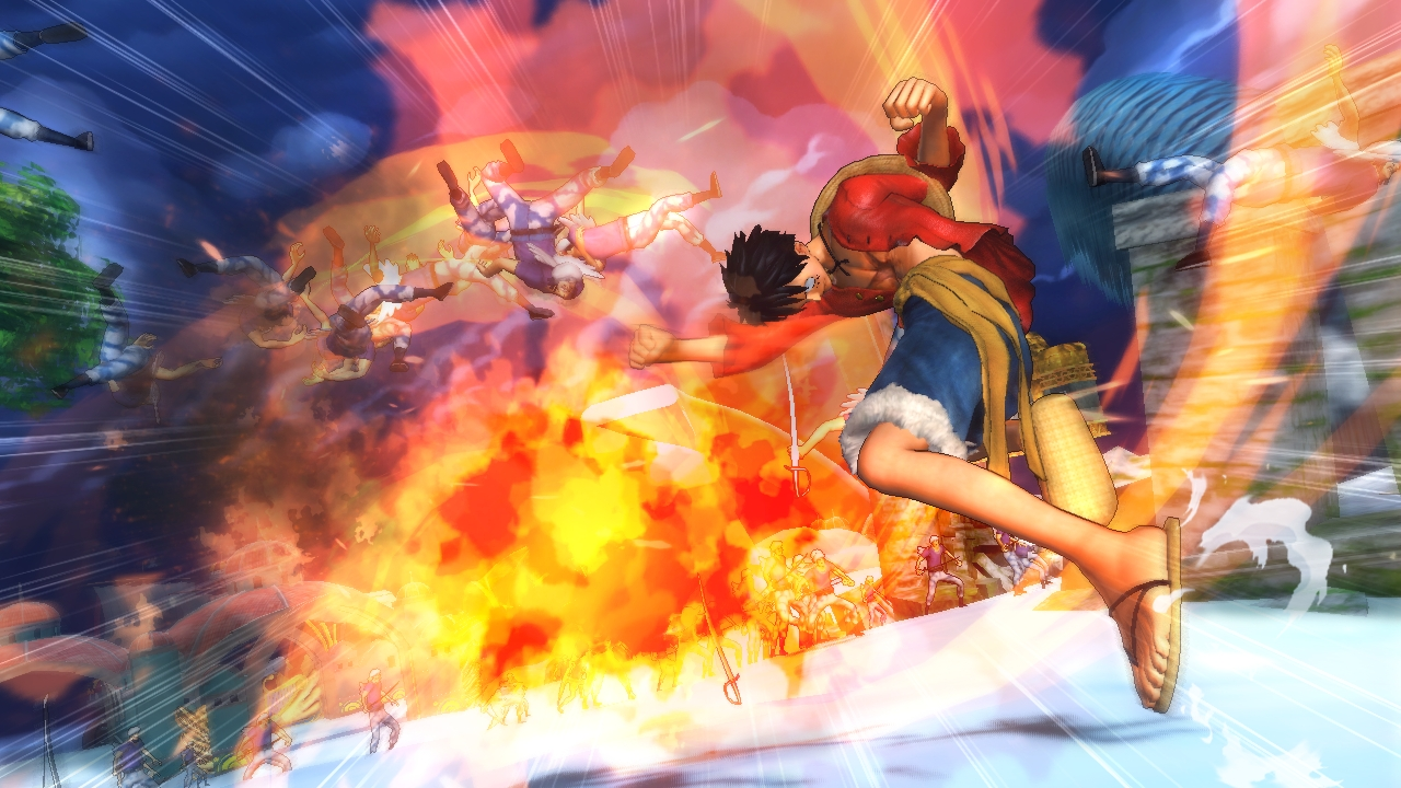 one piece pirate warriors 2 ps3 review nerd reactor. Black Bedroom Furniture Sets. Home Design Ideas