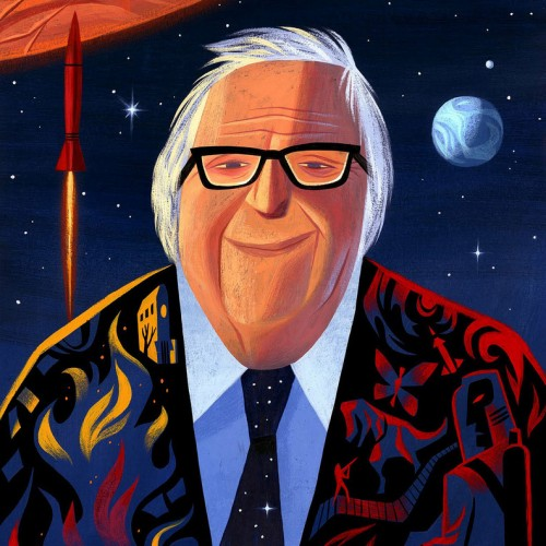 Happy birthday, Ray Bradbury!