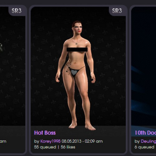 You can now make your custom president with Saints Row IV's Inauguration Station