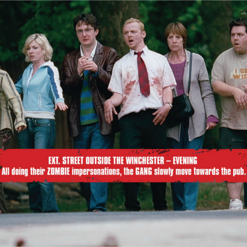 Love Shaun of the Dead? New interactive screenplay from Edgar Wright!