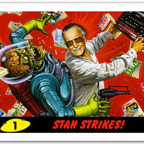 Mars Attacks vs. Stan Lee