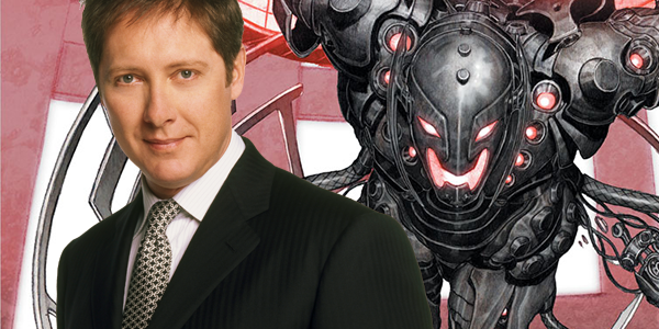 James Spader plays titular villain in The Avengers: Age of Ultron