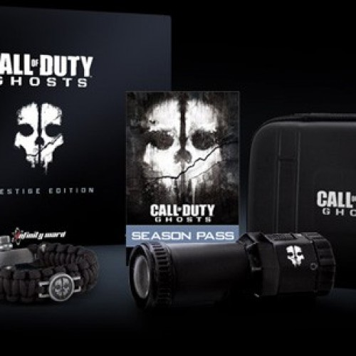 Call of Duty: Ghosts Prestige Edition includes a 1080p water-resistant tactical camera