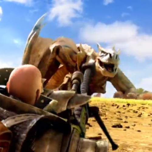 Watch Tigrex meet its match in Monster Hunter 4's new opening cinematic