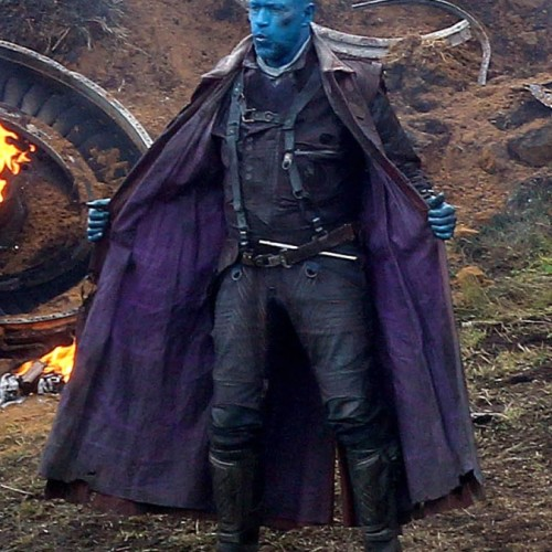 Set pics of Michael Rooker as 'Yondu' on Guardians of the Galaxy