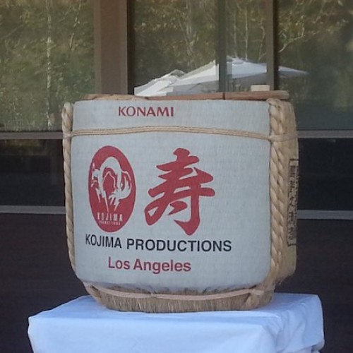 Kojima Productions Los Angeles studio opens with a sake smash