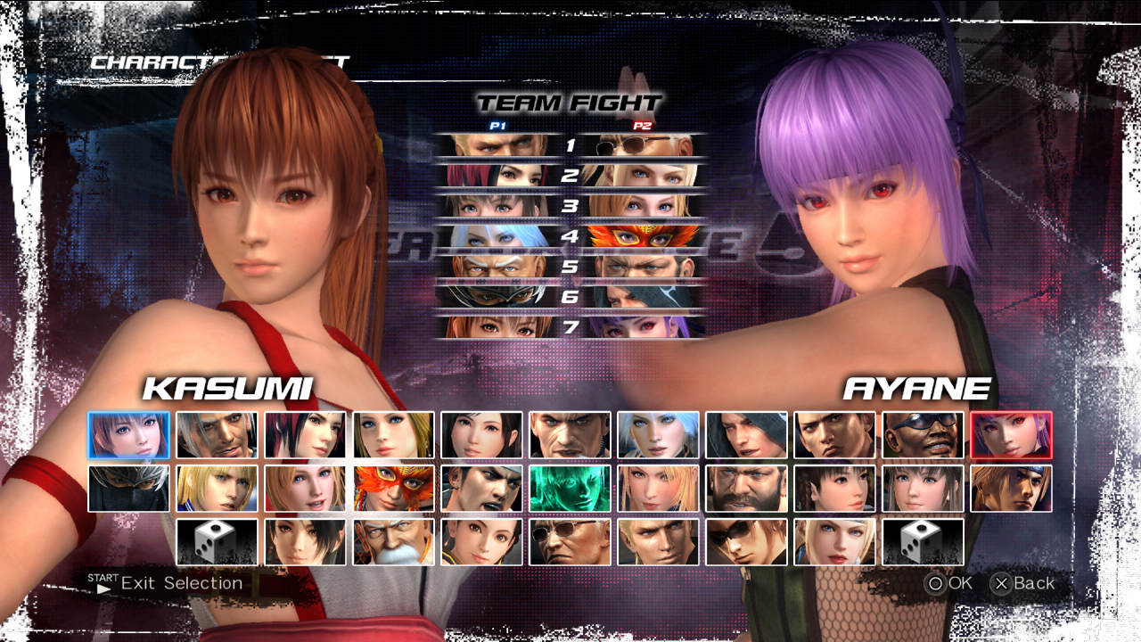 Dead or alive 5 ultimate characters