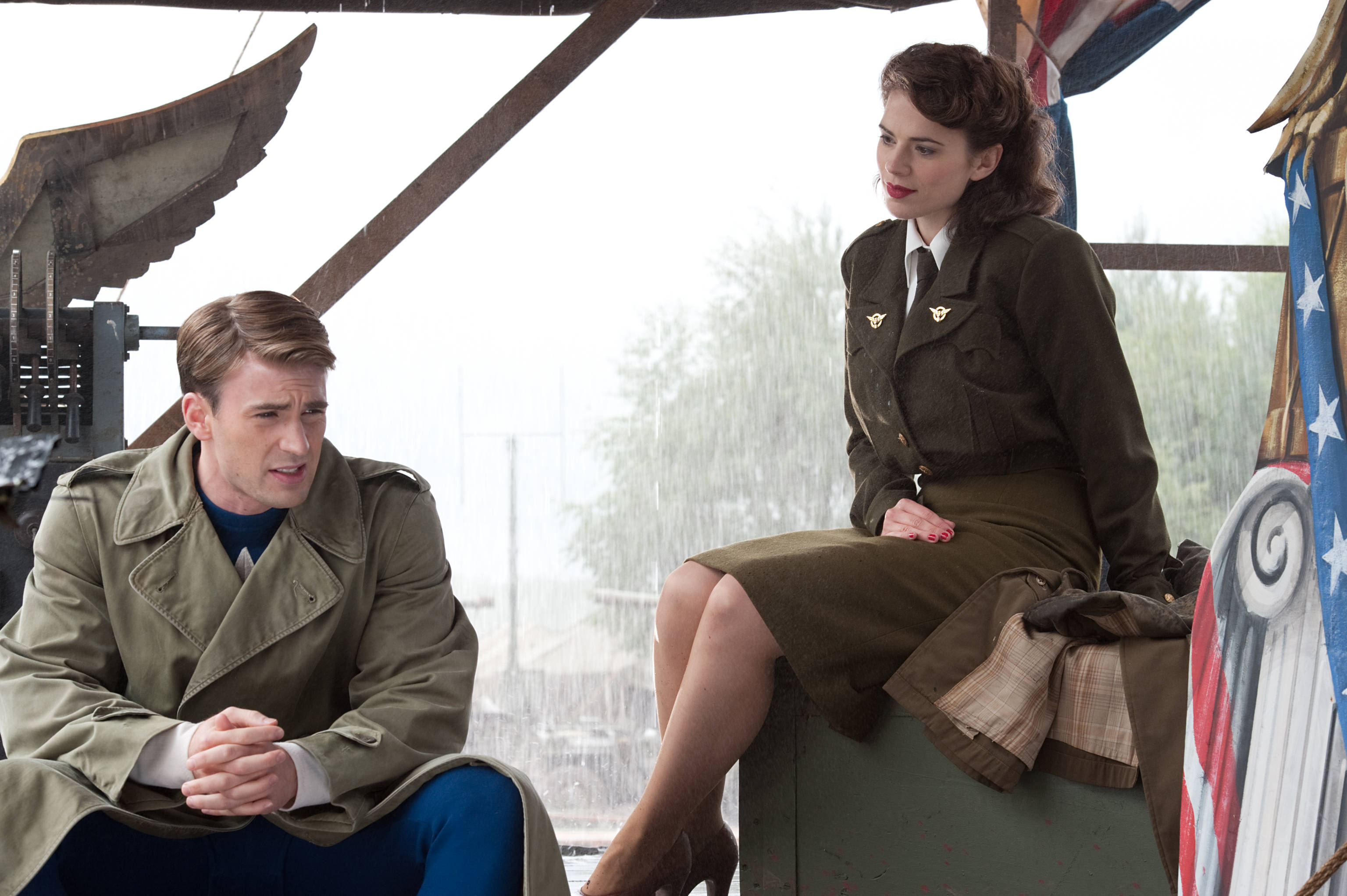 Captain America And Peggy Music