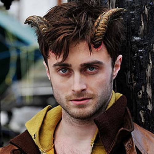 Daniel Radcliffe has HORNS in this first clip