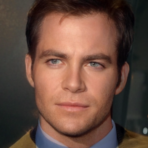 Old and new Star Trek casts merged!