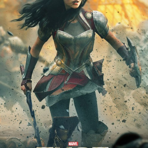 Thor: The Dark World: The ladies get a poster!