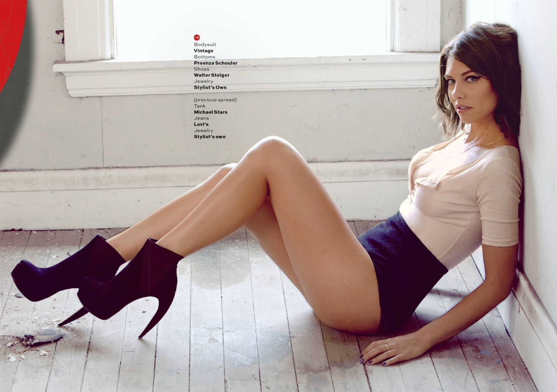 The Walking Dead's Lauren Cohan does a sexy Maxim photo