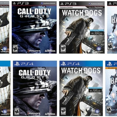 A selected few PS3 games can be upgraded to PS4