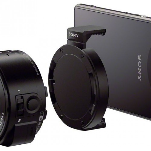 Sony reveals two detachable camera lenses, the Cyber-shot DSC-QX10 and DSC-QX100