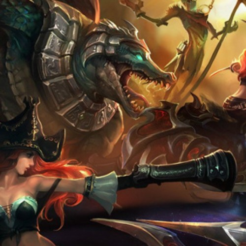 League of Legends 'My Team' contest