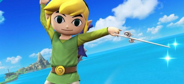 Toon Link Super Smash Bros Wii U 3DS pic 3