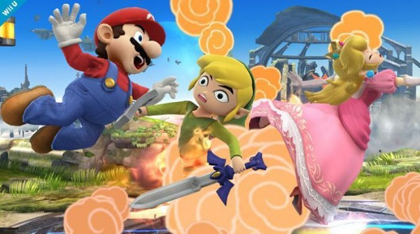Toon Link Super Smash Bros Wii U 3DS pic 5