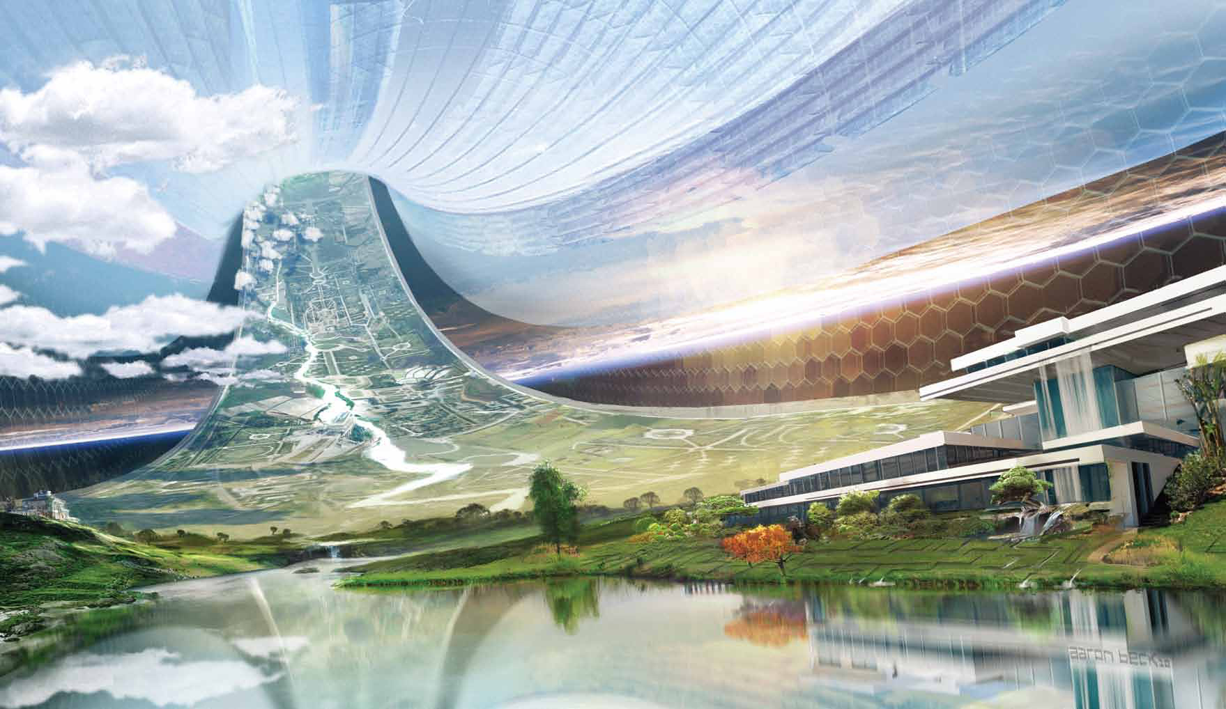 Review elysium the art of the film nerd reactor for Concept of space in architecture