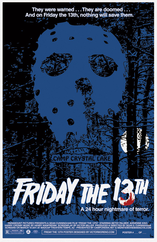 13 alternative friday the 13th movie posters nerd reactor
