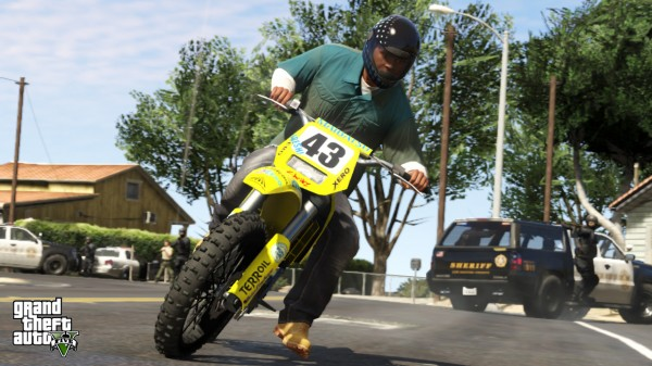 grand theft auto 5 dirt bike