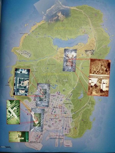 grand theft auto 5 map los santos