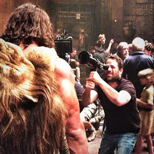 The Rock tweets another photo from Hercules!