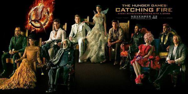 New Hunger Games Catching Fire Images Of The Cast Nerd Reactor