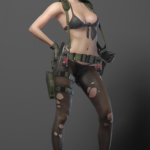 Hideo Kojima releases Metal Gear Solid V sexy images of Quiet for cosplayers