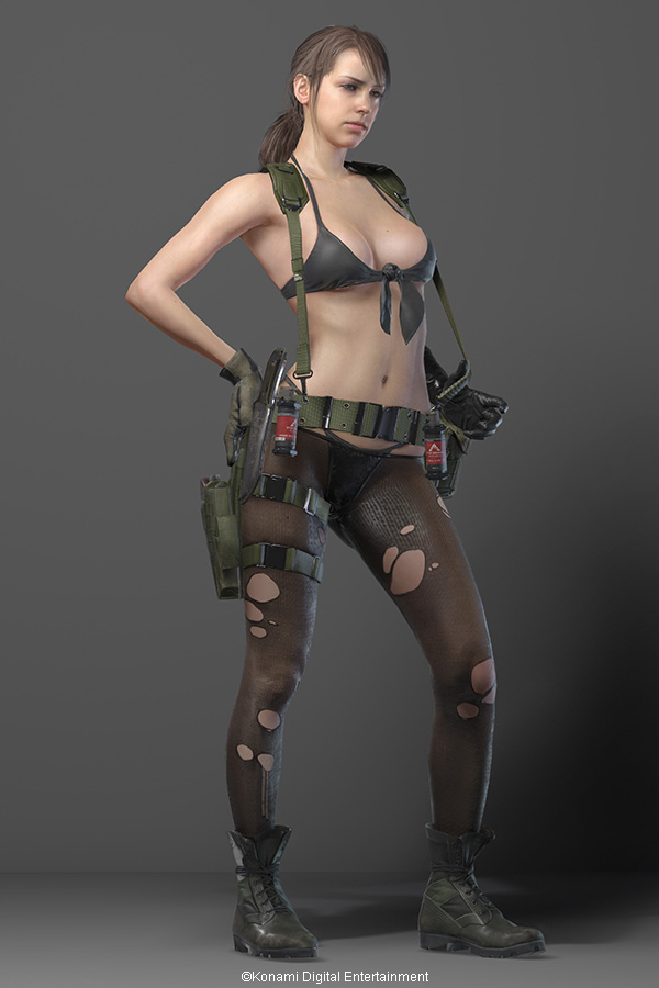 v Metal gear quiet solid