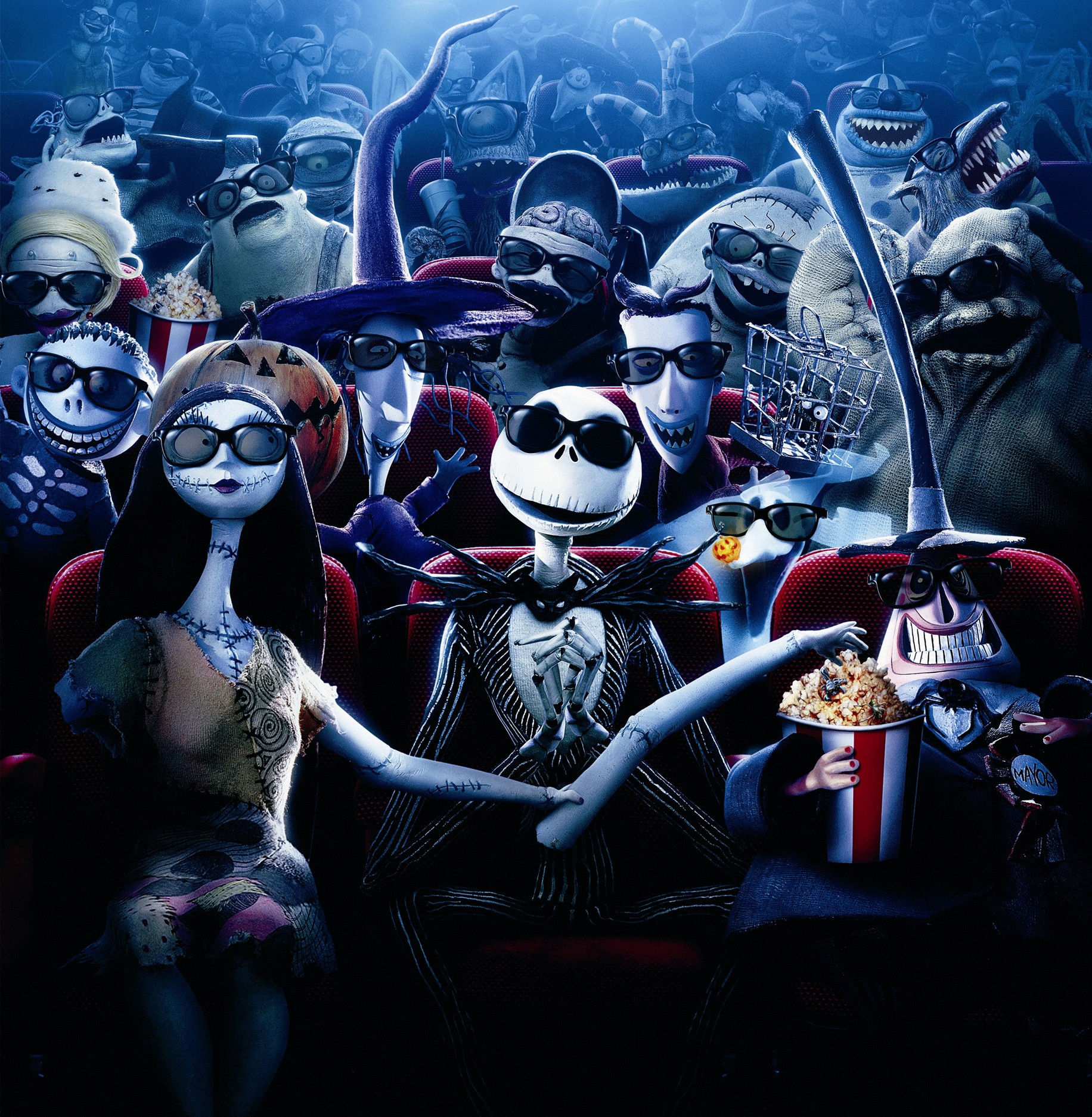 The Nightmare Before Christmas in 4D experience from an old fan ...
