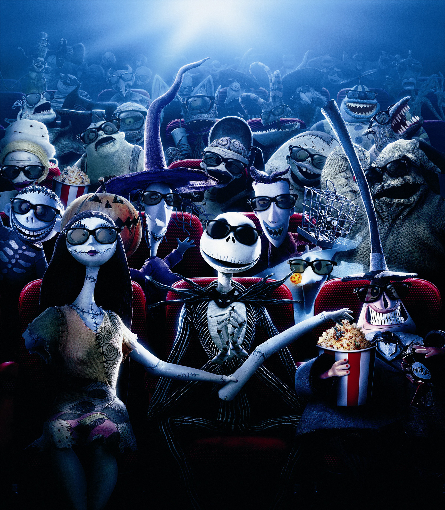 The Nightmare Before Christmas heads back to El Capitan...in 4D ...