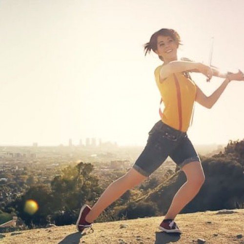 Lindsey Stirling and Kurt Hugo Schneider do Pokemon dubstep