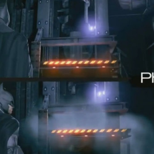 Batman: Arkham Origins comparison with and without Nvidia's PhysX