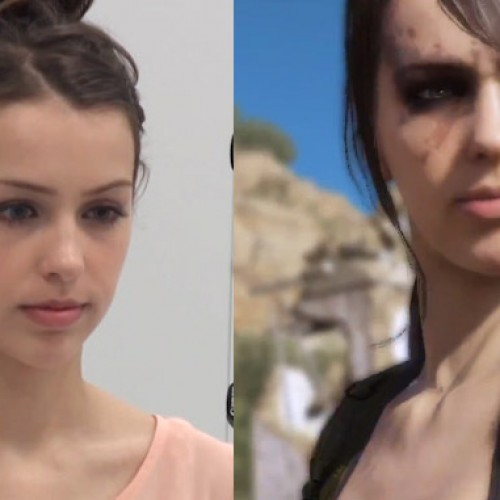 Making of Metal Gear Solid 5's Stefanie Joosten as Quiet [video]