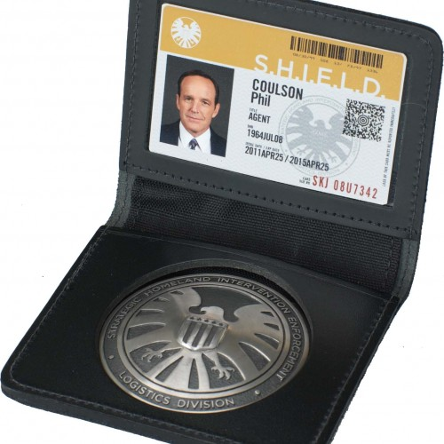 Get your Agents of SHIELD personalized badge at New York Comic Con