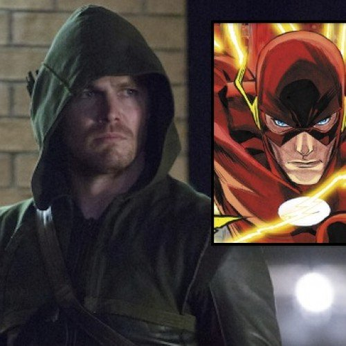 The Flash episode of Arrow is filming on…