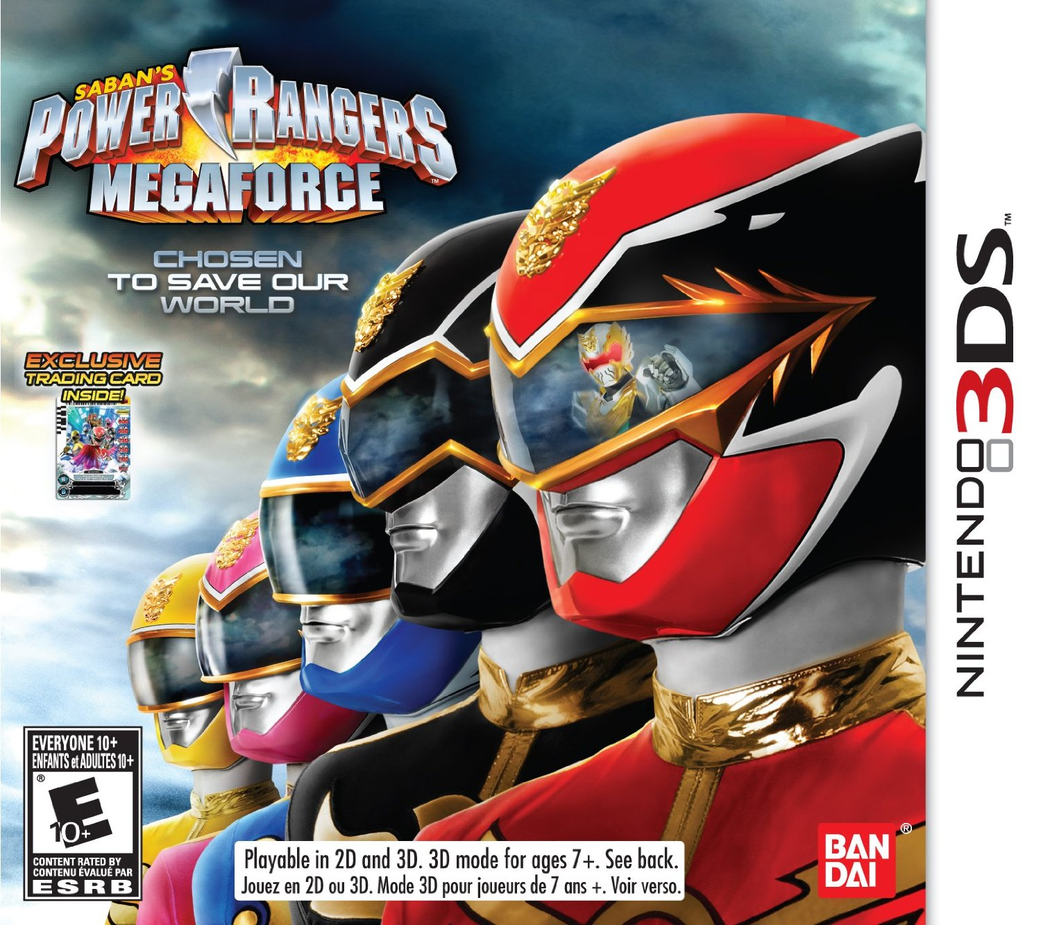 Play as the original mighty morphin power rangers in power rangers megaforce 3ds game nerd reactor - Moto power rangers megaforce ...