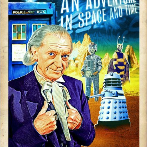 BBC releases new retro posters for Doctor Who docudrama An Adventure in Space and Time