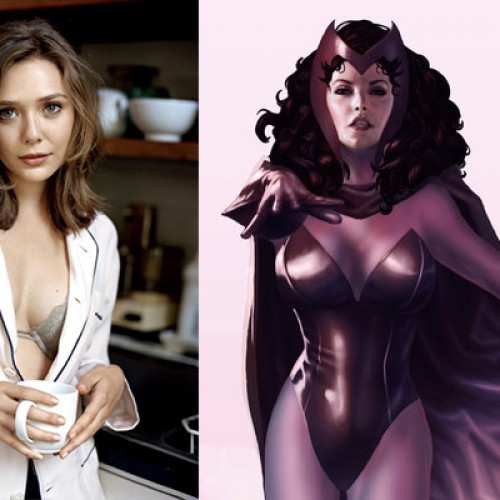 Samuel L. Jackson reveals Elizabeth Olsen to be playing Scarlet Witch in The Avengers: Age of Ultron