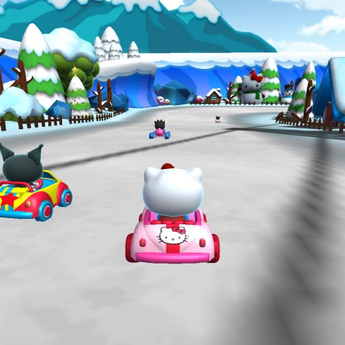 Move over Mario and Sonic, Hello Kitty is taking over the race track in Hello Kitty Kruisers