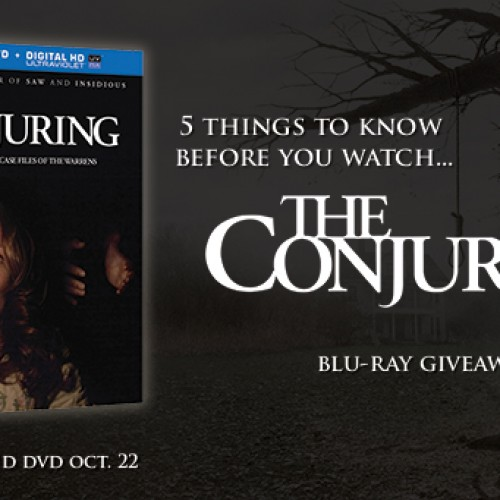 Contest: Winner announced for Conjuring Blu-ray