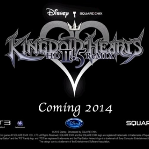 Kingdom Hearts HD 2.5 ReMIX is coming in 2014
