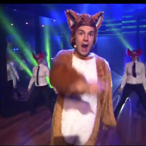 What does the fox say? 'Perform live on Late Night with Jimmy Fallon'