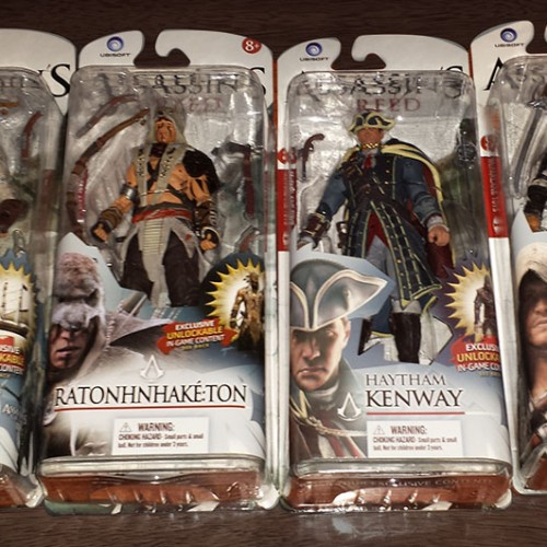 Contest: Winner announced for McFarlane Toys' Assassin's Creed figures