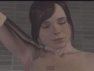 beyond two souls shower
