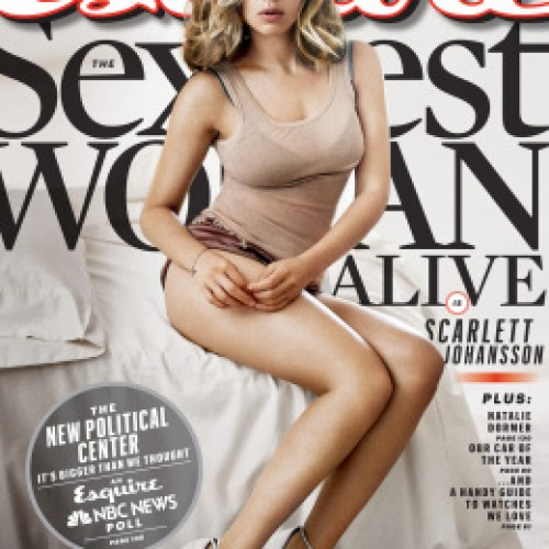 ScarJo trends for two weeks: Scarlett tumbled, now is sexy