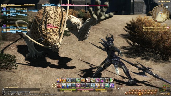 final fantasy 14 a realm reborn lancer