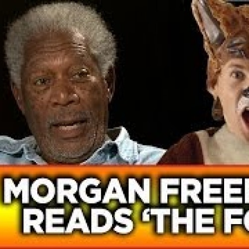 Morgan Freeman, Robert De Niro and Michael Douglas reads pop song lyrics