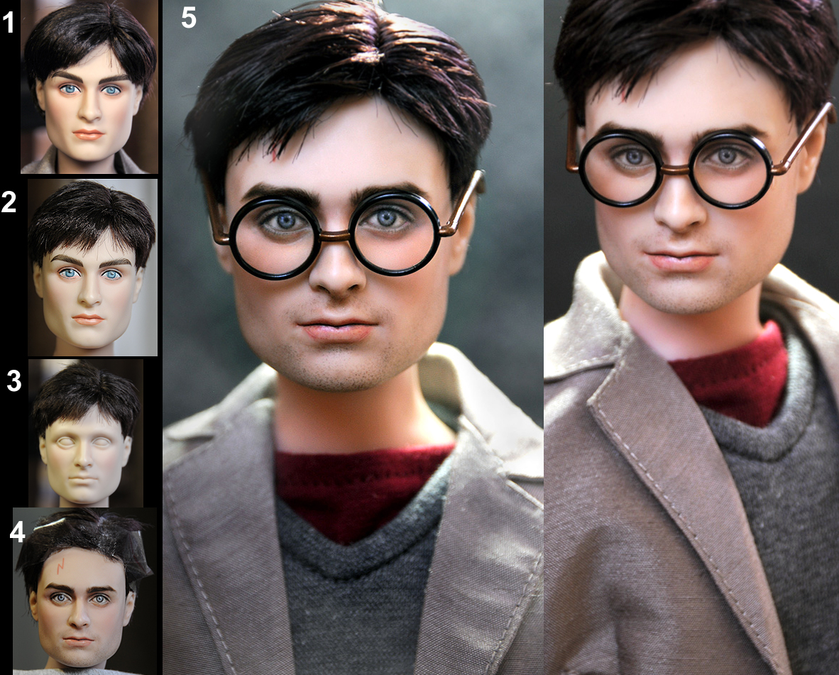 Lord Of The Rings And Harry Potter Dolls Look More