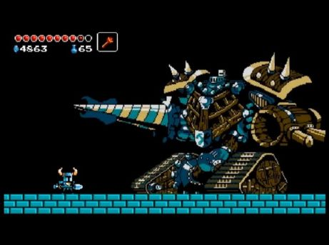 shovel knight mega man influence